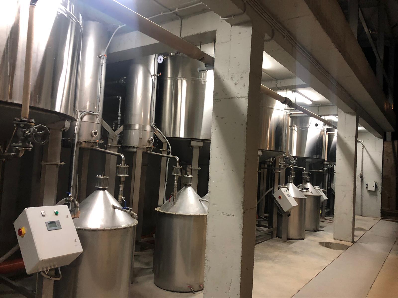 lavander oil distillery